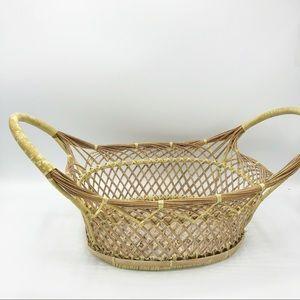 Unique Basket • Boho Farmhouse decor